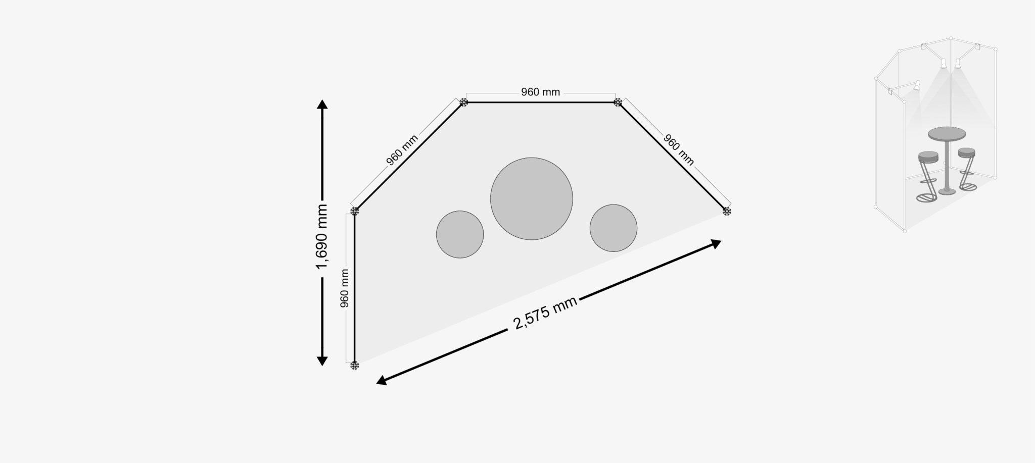 4-Wandsystem