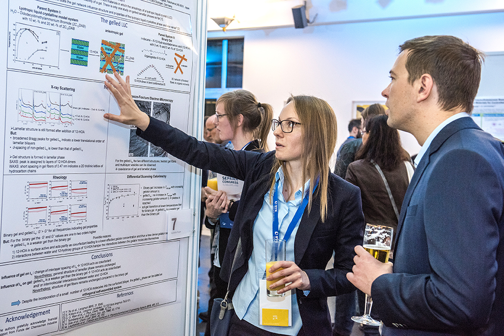 Scientific And Application Oriented Poster Expositions At The SEPAWA